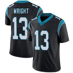 Jarius Wright Carolina Panthers Limited Men's Team Color Vapor Untouchable Jersey (Black)