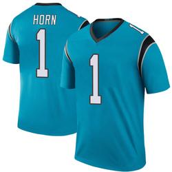 Jaycee Horn Carolina Panthers Legend Men's Color Rush Jersey (Blue)