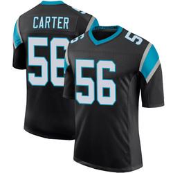 Jermaine Carter Carolina Panthers Limited Men's Team Color 100th Vapor Untouchable Jersey (Black)