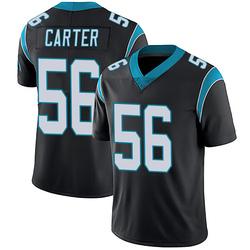 Jermaine Carter Carolina Panthers Limited Men's Team Color Vapor Untouchable Jersey (Black)