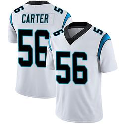 Jermaine Carter Carolina Panthers Limited Men's Vapor Untouchable Jersey (White)