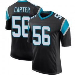 Jermaine Carter Carolina Panthers Limited Youth Team Color 100th Vapor Untouchable Jersey (Black)