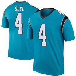 Joey Slye Carolina Panthers Legend Youth Color Rush Jersey (Blue)