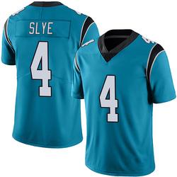 Joey Slye Carolina Panthers Limited Men's Alternate Vapor Untouchable Jersey (Blue)
