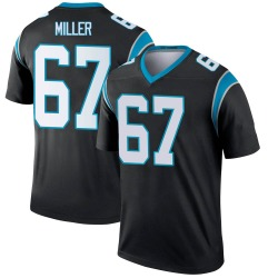 John Miller Carolina Panthers Legend Men's Jersey (Black)