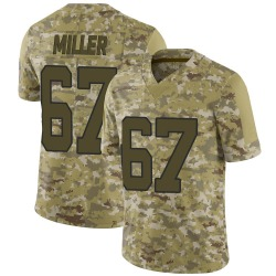 John Miller Carolina Panthers Limited Men's 2018 Salute to Service Jersey (Camo)