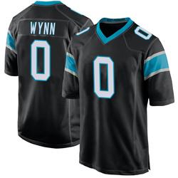 Jonathan Wynn Carolina Panthers Game Youth Team Color Jersey (Black)