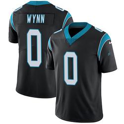 Jonathan Wynn Carolina Panthers Limited Youth Team Color Vapor Untouchable Jersey (Black)