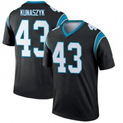 Jordan Kunaszyk Carolina Panthers Legend Men's Jersey (Black)