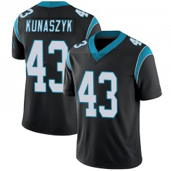Jordan Kunaszyk Carolina Panthers Limited Men's Team Color Vapor Untouchable Jersey (Black)
