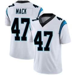 Jordan Mack Carolina Panthers Limited Men's Vapor Untouchable Jersey (White)