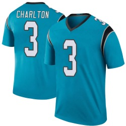 Joseph Charlton Carolina Panthers Legend Men's Color Rush Jersey (Blue)