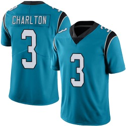 Joseph Charlton Carolina Panthers Limited Men's Alternate Vapor Untouchable Jersey (Blue)