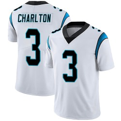 Joseph Charlton Carolina Panthers Limited Men's Vapor Untouchable Jersey (White)