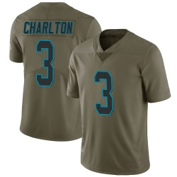 Joseph Charlton Carolina Panthers Limited Youth 2017 Salute to Service Jersey (Green)
