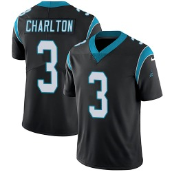Joseph Charlton Carolina Panthers Limited Youth Team Color Vapor Untouchable Jersey (Black)