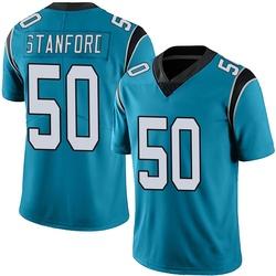 Julian Stanford Carolina Panthers Limited Men's Alternate Vapor Untouchable Jersey (Blue)