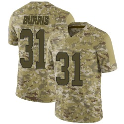 Juston Burris Carolina Panthers Limited Youth 2018 Salute to Service Jersey (Camo)