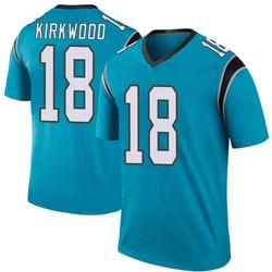 Keith Kirkwood Carolina Panthers Legend Youth Color Rush Jersey (Blue)