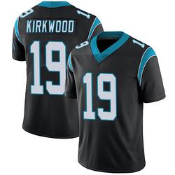 Keith Kirkwood Carolina Panthers Limited Men's Team Color Vapor Untouchable Jersey (Black)