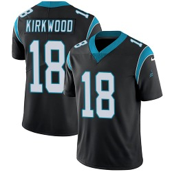 Keith Kirkwood Carolina Panthers Limited Youth Team Color Vapor Untouchable Jersey (Black)
