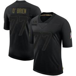 Kitt O'Brien Carolina Panthers Limited Men's 2020 Salute To Service Jersey (Black)