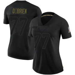 Kitt O'Brien Carolina Panthers Limited Women's 2020 Salute To Service Jersey (Black)