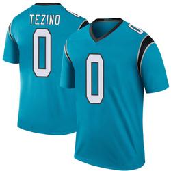 Kyahva Tezino Carolina Panthers Legend Men's Color Rush Jersey (Blue)