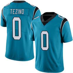 Kyahva Tezino Carolina Panthers Limited Men's Alternate Vapor Untouchable Jersey (Blue)
