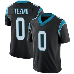 Kyahva Tezino Carolina Panthers Limited Men's Team Color Vapor Untouchable Jersey (Black)