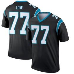 Kyle Love Carolina Panthers Legend Men's Jersey (Black)