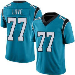 Kyle Love Carolina Panthers Limited Men's Alternate Vapor Untouchable Jersey (Blue)