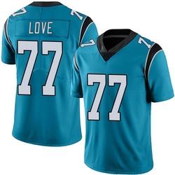 Kyle Love Carolina Panthers Limited Youth Alternate Vapor Untouchable Jersey (Blue)