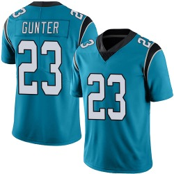 LaDarius Gunter Carolina Panthers Limited Men's Alternate Vapor Untouchable Jersey (Blue)