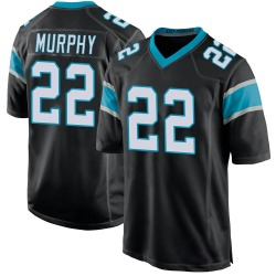 Marcus Murphy Carolina Panthers Game Youth Team Color Jersey (Black)