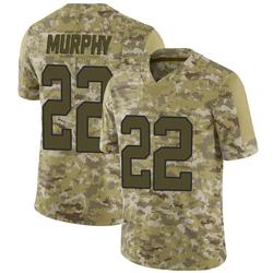 Marcus Murphy Carolina Panthers Limited Men's 2018 Salute to Service Jersey (Camo)