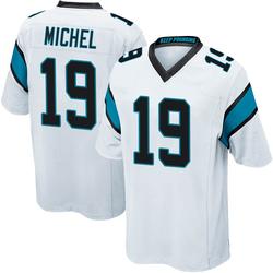 Marken Michel Carolina Panthers Game Men's Jersey (White)