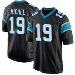 Marken Michel Carolina Panthers Game Men's Team Color Jersey (Black)