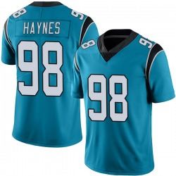 Marquis Haynes Carolina Panthers Limited Men's Alternate Vapor Untouchable Jersey (Blue)