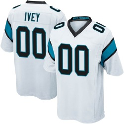 Martez Ivey Carolina Panthers Game Men's Jersey (White)