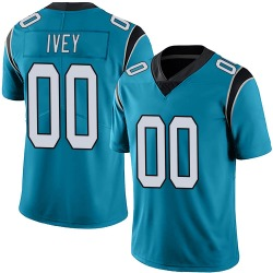 Martez Ivey Carolina Panthers Limited Men's Alternate Vapor Untouchable Jersey (Blue)
