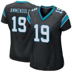 Matt Ammendola Carolina Panthers Game Women's Team Color Jersey (Black)