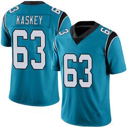 Matt Kaskey Carolina Panthers Limited Men's Alternate Vapor Untouchable Jersey (Blue)