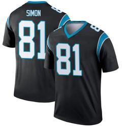 Micah Simon Carolina Panthers Legend Youth Jersey (Black)