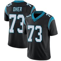 Michael Oher Carolina Panthers Limited Men's Team Color Vapor Untouchable Jersey (Black)