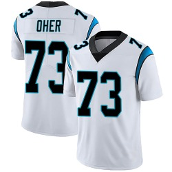 Michael Oher Carolina Panthers Limited Men's Vapor Untouchable Jersey (White)