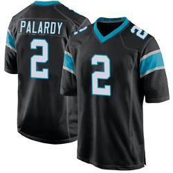Michael Palardy Carolina Panthers Game Youth Team Color Jersey (Black)