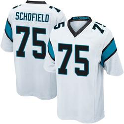 Michael Schofield Carolina Panthers Game Men's Jersey (White)
