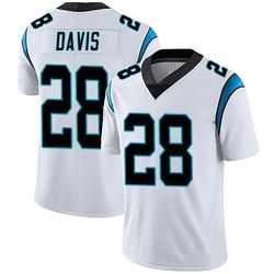 Mike Davis Carolina Panthers Limited Men's Vapor Untouchable Jersey (White)