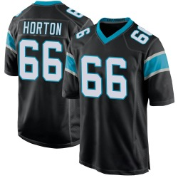Mike Horton Carolina Panthers Game Youth Team Color Jersey (Black)